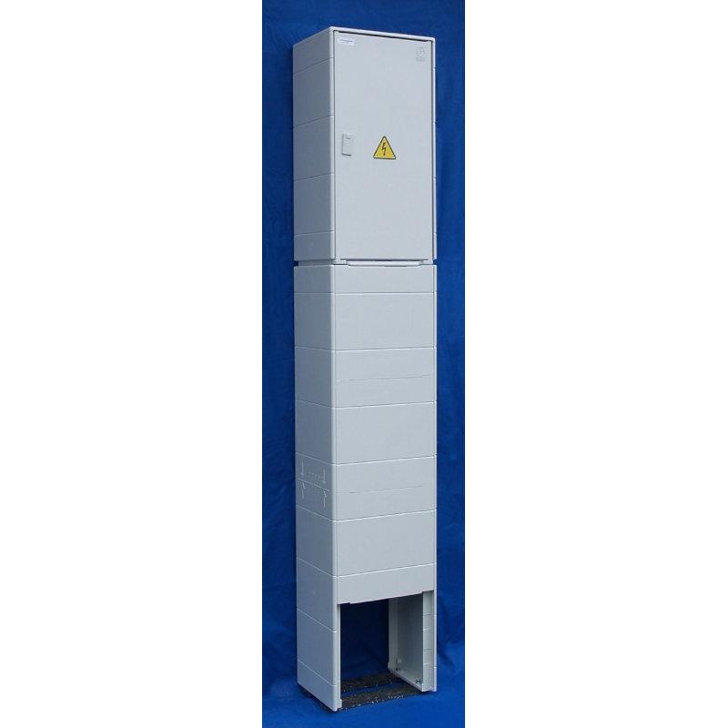 ER112/NKP7P Skříň elektroměr.kompakt.pilíř, přímé měření (DCK)