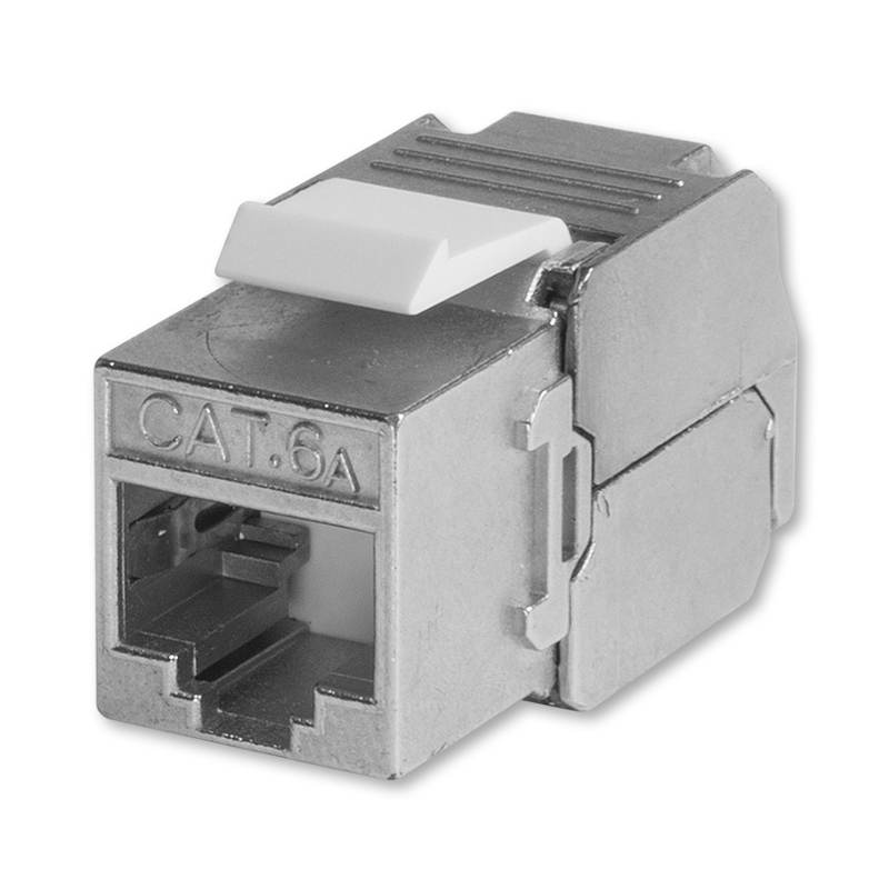 RJ45C6AS Keystone Jack CAT6A 8p. stíněný, ABB
