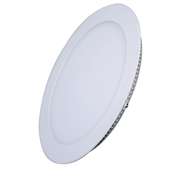 Solight LED mini panel, podhledový, 6W, 400lm, 4000K, tenký, kulatý, bílý
